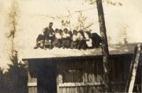 Good Will farm staff, Fairfield, ca. 1915