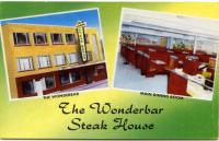The Wonderbar Steak House, Biddeford, ca. 1950