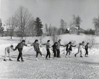 Ice skating, Fairfield, ca. 1955