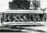 Augusta, Hallowell & Gardiner trolley, Hallowell, ca. 1900