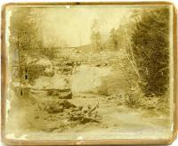 Wire Mill Dam, Vaughan Woods, Hallowell, ca. 1870