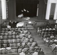 Bishop Auditorium, Fairfield, ca. 1950