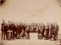 Company A, 1st Regiment, Augusta, ca. 1892