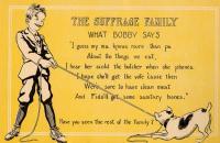 Woman suffrage postcard, ca. 1917