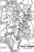 Battle of Antietam map, 1862