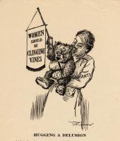 Suffrage cartoon, ca. 1917