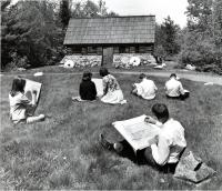 Art class at Good Will, Fairfield, ca. 1965