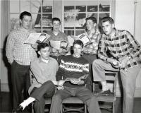 Good Will Choir basses, Fairfield, 1958