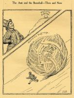 Woman suffrage political cartoon, 1916