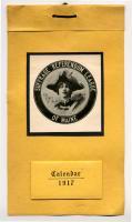 Suffrage Referendum League of Maine calendar, 1917