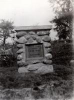 Pratt Farm Monument, Clinton, ca. 1926