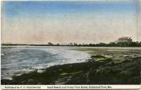 Sand Beach and Ocean View Motel, Biddeford Pool, ca. 1920