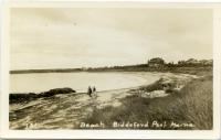 Ocean View Hotel and Biddeford Pool beach, ca. 1920