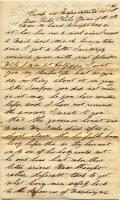 Meshach P. Larry letter, Oct. 18, 1863