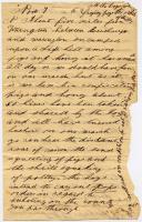 Meshach P. Larry letter, Nov. 7, 1862