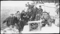 The schooner 'Bowdoin' crew, 1939
