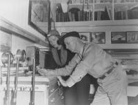 Miriam and Donald MacMillan, Greenland, 1947