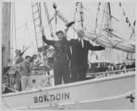Schooner 'Bowdoin,' Mystic Seaport, 1959