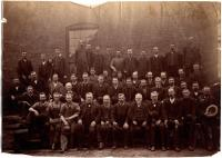 Machine Shop employees of the Portland Company, 1887