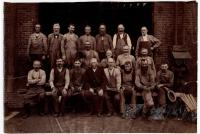 Carpenter's shop employees, Portland Company, August 1887