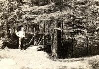 George Walter Hinckley on the Good Will Trail, Fairfield, ca. 1923