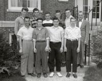 Averill High School boys Class of 1958, Fairfield, 1958