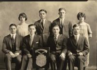 Good Will-Hinckley graduating class, Fairfield, 1925