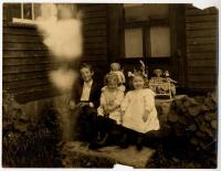 Plummer family children, Scarborough, ca. 1900