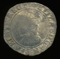 Shilling coin, Popham Colony, ca. 1607