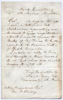 Neal Dow to George F. Shepley, 1862