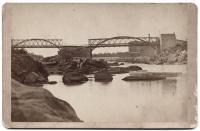 Lisbon Falls Bridge, circa 1882