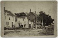 Oak Street, Lisbon Falls, ca. 1882