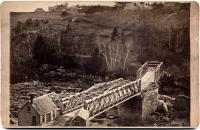 Lisbon Falls bridge, 1880s