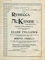 McKenzie Tour Co. brochure, ca. 1895