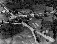 Aerial photograph of Nobleboro