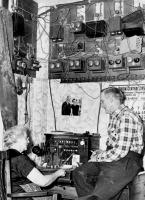Telephone operations in Norway, ca. 1956