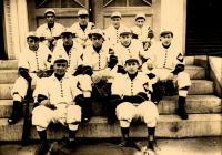 Sanford High School Baseball Team, 1912