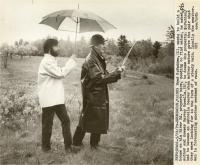 Dowsing for water, Brunswick, 1979