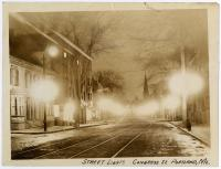 Portland street lights, ca. 1920