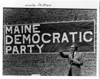 Edmund Muskie delivering a speech, 1977