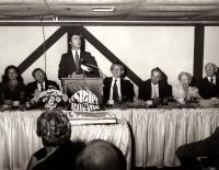 Israel bonds fund-raising dinner, Bangor, ca. 1970