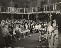 Shabbat Service, Camp Lown, Oakland, 1947