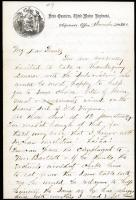 Abner Small to the Emersons, Nov. 20, 1861