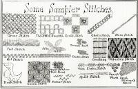 American sampler stitches