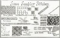 American sampler stitches