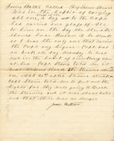 Deposition of James Hatter, 'Bohemian's' chief steward
