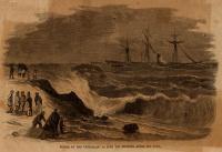 Wreck of the Bohemian, Cape Elizabeth, 1864