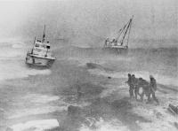 The wreck of the Alton A, 1972