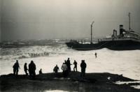 Rescue of Oakey L. Alexander crew, Cape Elizabeth, 1947
