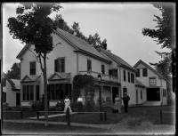 Franklin House, Lower Main Street, Strong, ca. 1915
